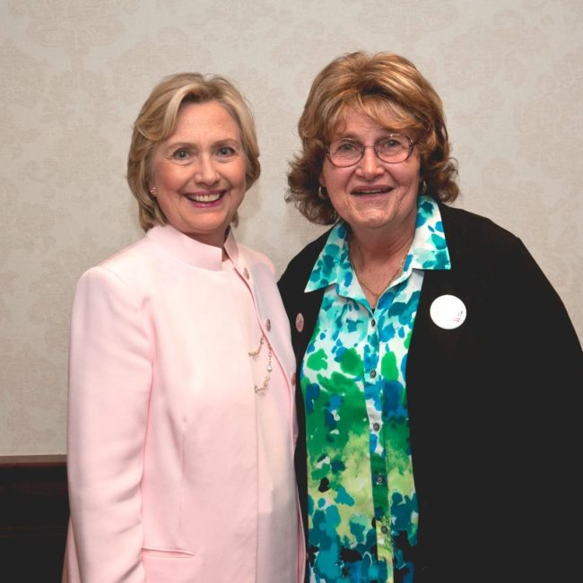 Trans advocate Babs Siperstein was a member of the DNC until 2017.