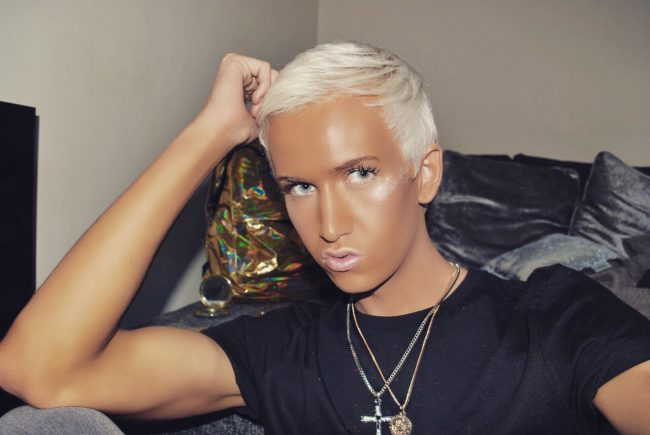 Bradley Hunt opened up about his experiences of homophobic abuse.