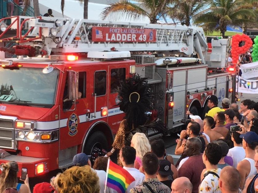 Two people were stabbed near the stage at Fort Lauderdale Gay Pride event (Pride Fort Lauderdale/Facebook)