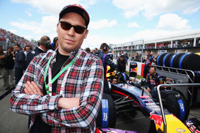 Director Bryan Singer is seen on the grid before the Canadian Formula One Grand Prix at the Circuit Gilles Villeneuve on June 9, 2013 in Montreal, Canada.