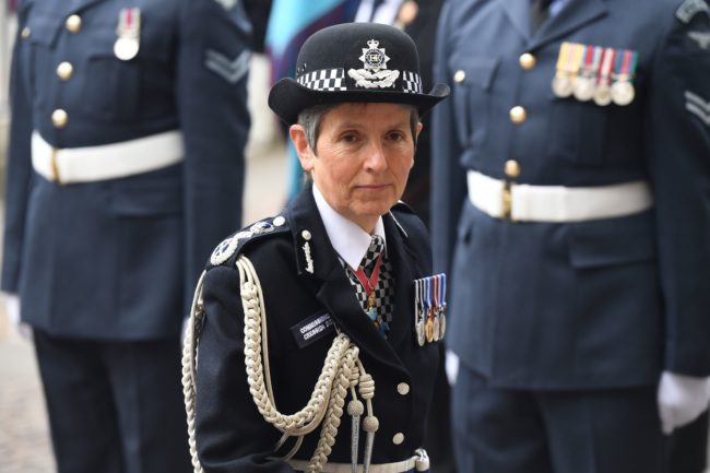 Commissioner of the Metropolitan Police Service, Cressida Dick