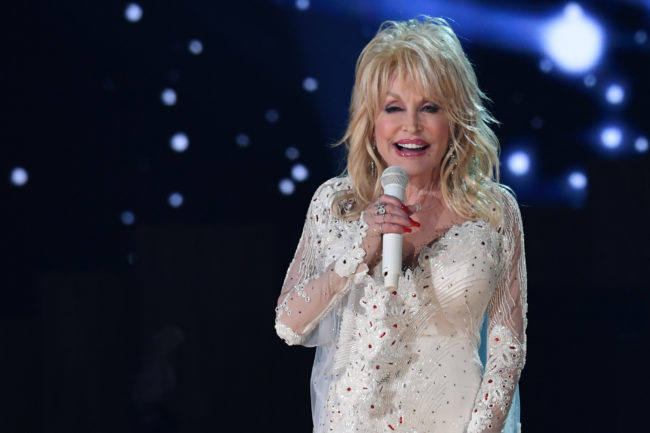 US singer Dolly Parton performs onstage during the 61st Annual Grammy Awards on February 10, 2019, in Los Angeles.