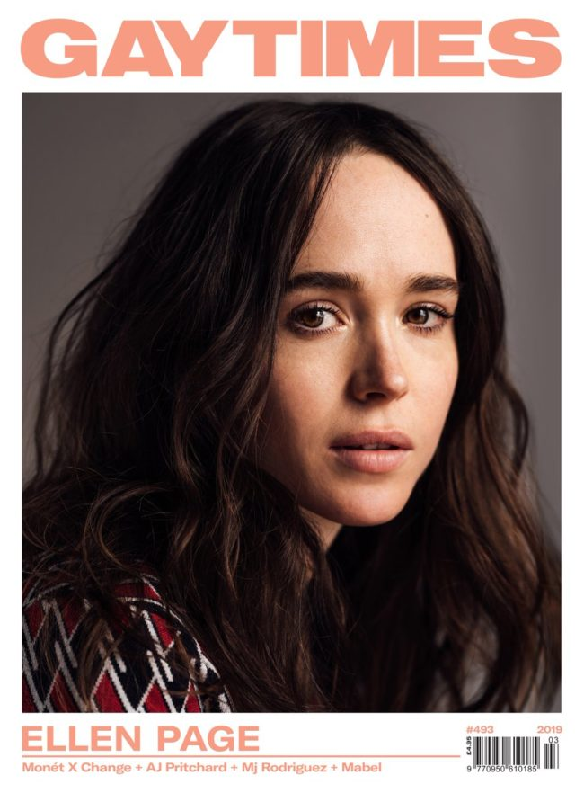 Ellen Page spoke out in an interview with Gay Times magazine