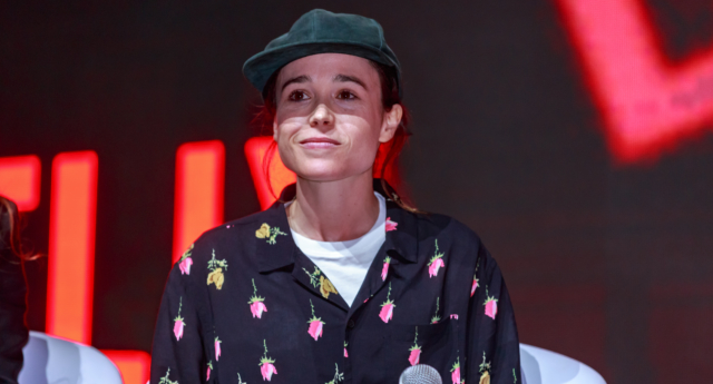 Ellen Page attends the Netflix Original: The Umbrella Academy panel at Comic-Con São Paulo on December 8, 2018 in Sao Paulo, Brazil. (Alexandre Schneider/Getty Images for Netflix)