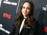 Ellen Page attends the premiere of Netflix's The Umbrella Academy at ArcLight Hollywood on February 12, 2019 in Hollywood, California.