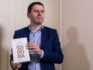 """French writer and journalist Frédéric Martel poses during a press conference on February 20, 2019 in Rome about his latest book, titled """"Sodoma"""" in Italian and """"In the Closet of the Vatican: Power, Homosexuality, Hypocrisy"""" in English. (Tiziana FABI / AFP)"""