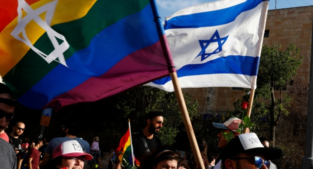 Anti-gay incidents are on the rise in Israel, which will host Eurovision in May. (Gali Tibbon/AFP/Getty)
