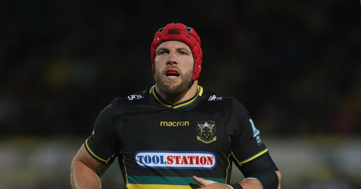 Rugby star James Haskell says players shouldn't have to come out