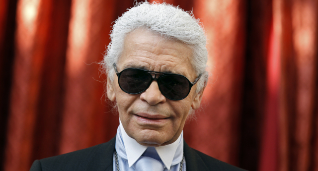 German fashion designer Karl Lagerfeld was with Jacques de Bascher for 18 years. (Photo by JACKY NAEGELEN / POOL / AFP)