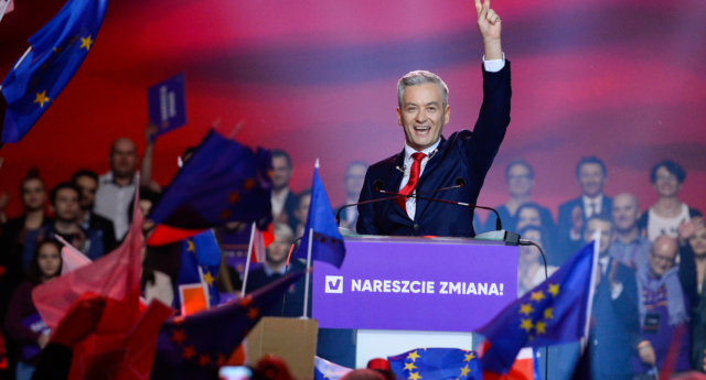 Former Polish mayor Robert Biedron recently launched a new liberal political party called Wiosna (Omar Marques/Getty Images)