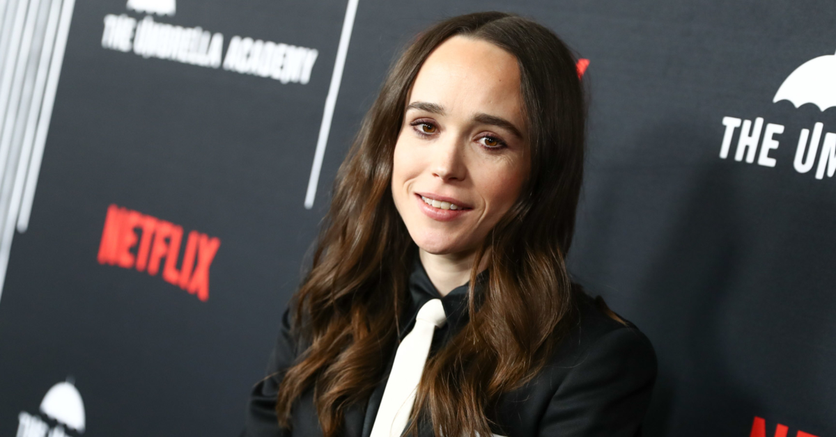 Ellen Page says she 'barely touched a woman outside' until she was 27