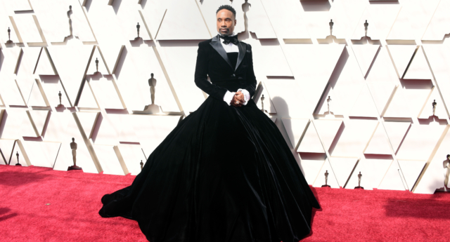 Pose's Billy Porter Wears a Tuxedo Gown on Oscars 2019 Red Carpet!