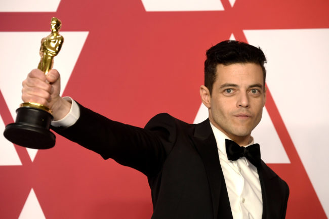 Rami Malek, winner of Best Actor for 'Bohemian Rhapsody,' attends the 91st Annual Academy Awards press room at Hollywood and Highland on February 24, 2019 in Hollywood, California.