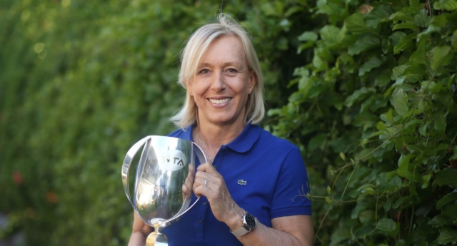 Martina Navratilova Criticized for Comments About Trans Women in Sport