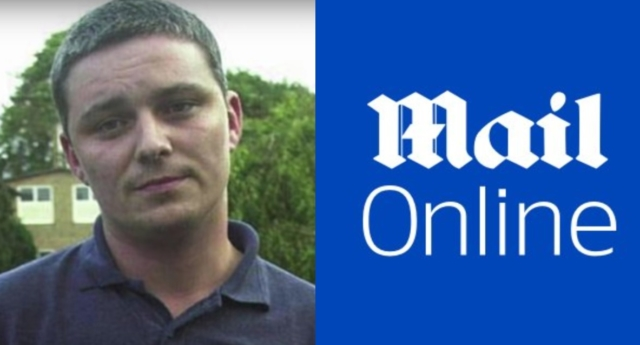 Ian Huntley (left) and the MailOnline logo. (Rotting Llama Productions/YouTube/MailOnline)