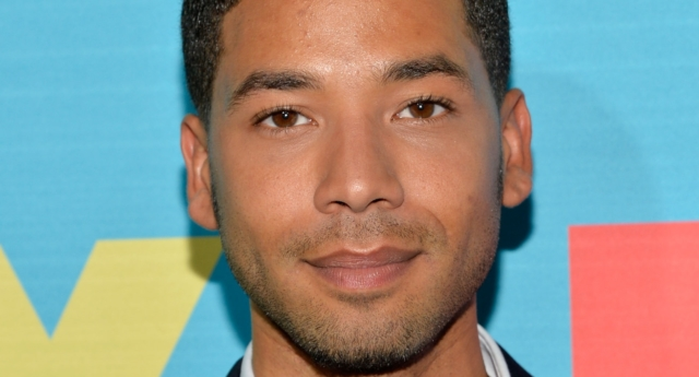 Actor Jussie Smollet attends the FOX 2014 Programming Presentation at the FOX Fanfront on May 12, 2014 in New York City. (Ben Gabbe/Getty)