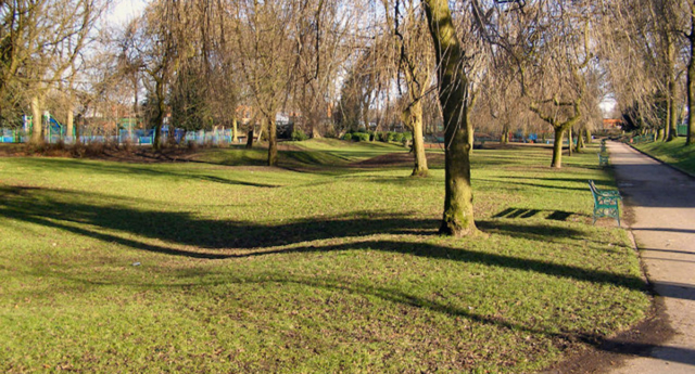 The teen was attacked in Manchester Road Park in Bury. (David Dixon/Geograph)
