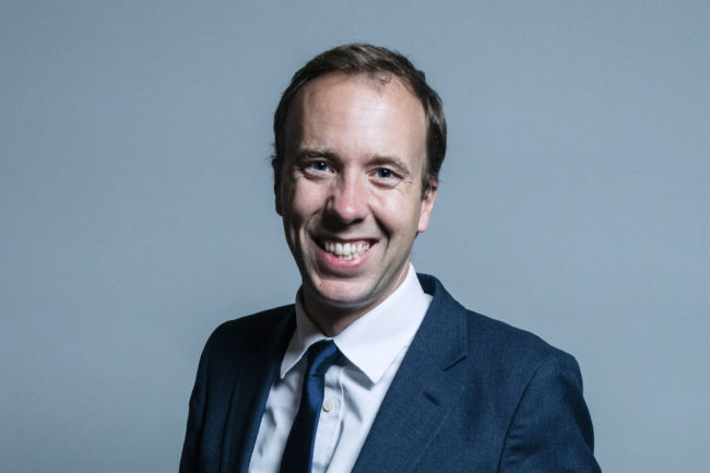 "Matt Hancock, who has pledged to ensure there is a ""specific focus"" on LGBT mental health as the UK marks Time to Talk Day"