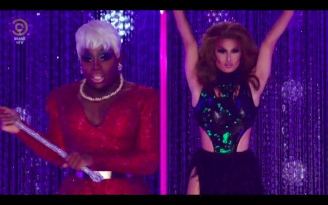 RuPaul's Drag Race All Stars 4 joint winners Monet X Change and Trinity the Tuck