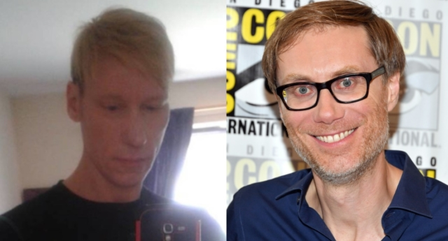 "Stephen Merchant is set to play ""Grindr killer"" Stephen Port in a BBC fact-based drama. (Facebook/Dia Dipasupil/Getty Images)"