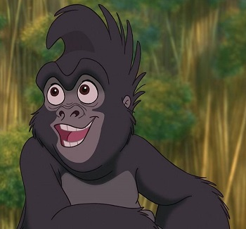 Gay Disney characters: Terkina from Tarzan