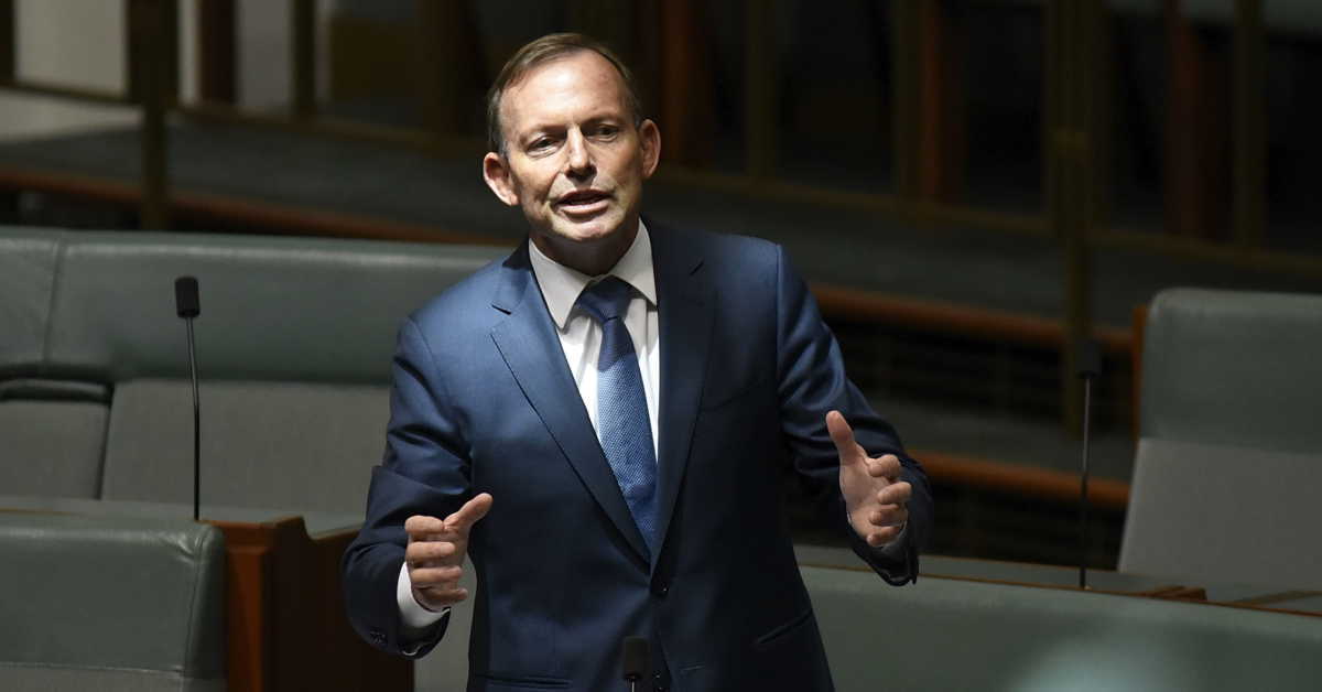 Tony Abbott, who opposed equal marriage, now claims he 'made it happen'