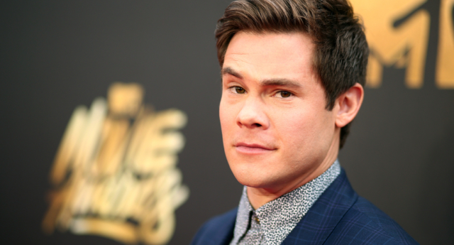Pitch Perfect star Adam Devine wants more variety in gay storylines. (Christopher Polk/Getty)