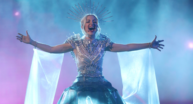 Kate Miller-Heidke will represent Australia at this year's Eurovision Song Contest (Chris Hyde/Getty)