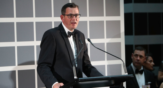 Victorian premier Daniel Andrews (Graham Denholm/Getty)