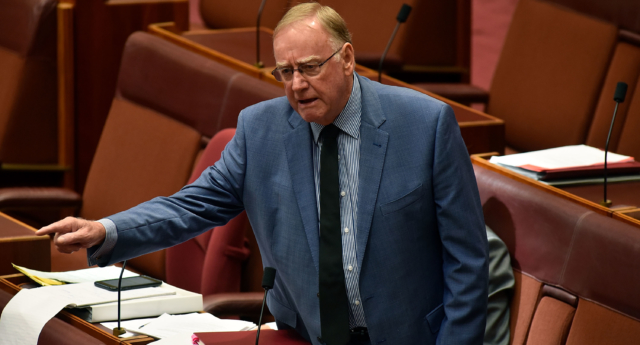Australian senator: Kids shouldn't have to know gay parents exist