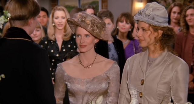 Friends showed one of the first lesbian weddings on TV (NBC)