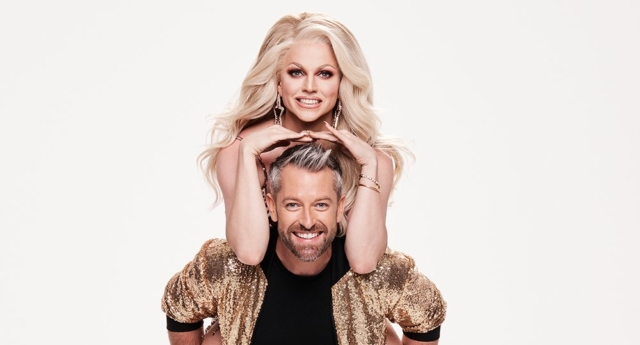 """Courtney Act danced to Portugal. The Man - """"Feel It Still."""" (Dancing With The Stars Australia/Twitter)"""