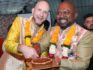 Vinodh Philip and Vincent Illaire celebrated the first wedding party in Mumbai since Section 377 was overturned (Vinodh Philip)