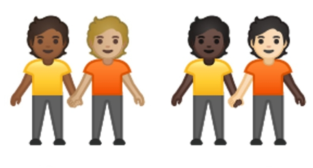 Gender neutral couples will now be represented as emojis, just like same-sex couples (Unicode Consortium)
