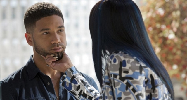 Jussie Smollett was suspended from Empire the day after being arrested (Fox)