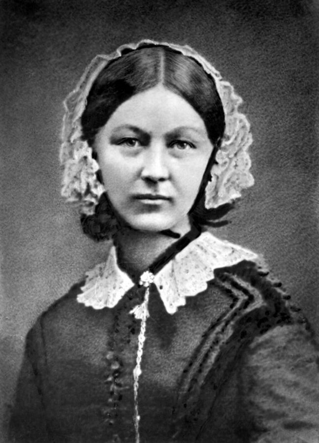 LGBT History Month: A picture of British nurse Florence Nightingale