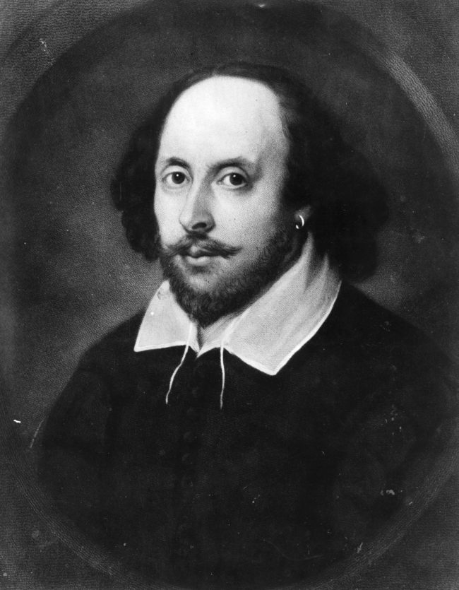 LGBT History Month: English poet and dramatist, William Shakespeare (1564 - 1616), circa 1610.