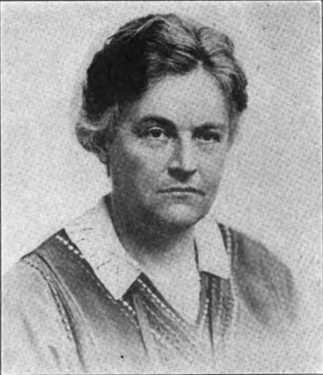 LGBT History Month: A picture of Caroline Spurgeon from a 1920 publication