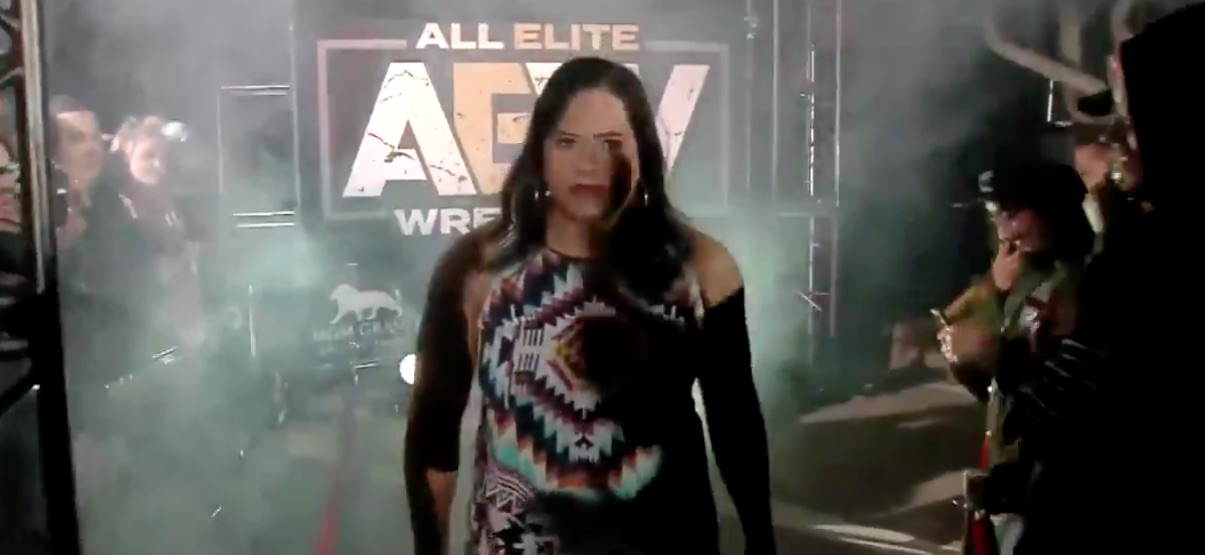 Trans wrestler Nyla Rose has joined All Elite Wrestling.