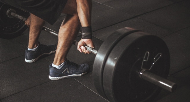 A person lifts weights. (Stock photo/Creative Commons)