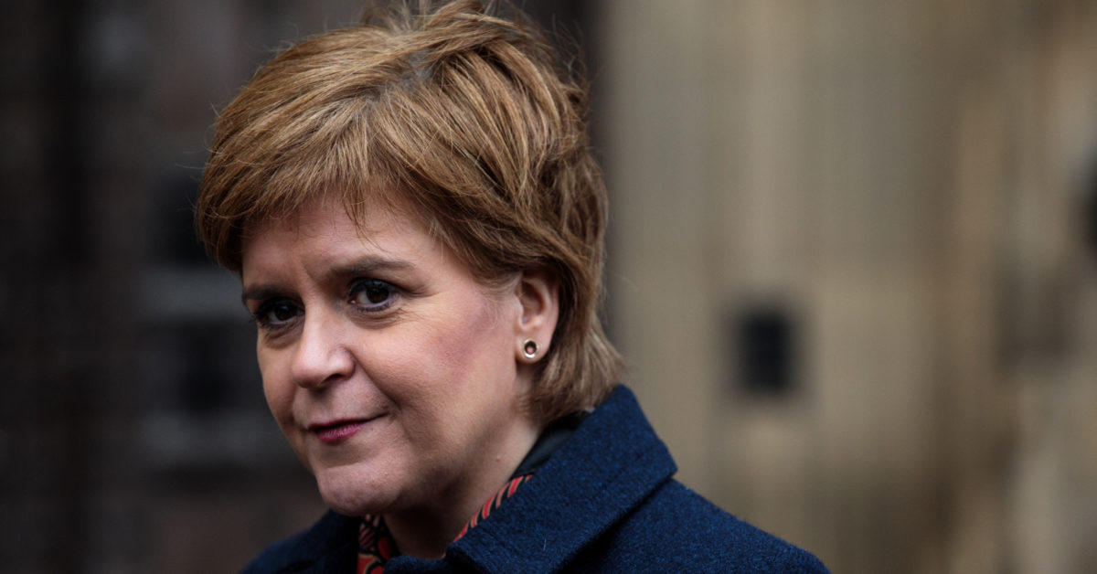 "Nicola Sturgeon defended transgender rights against ""misplaced"" concerns. (Jack Taylor/Getty)"