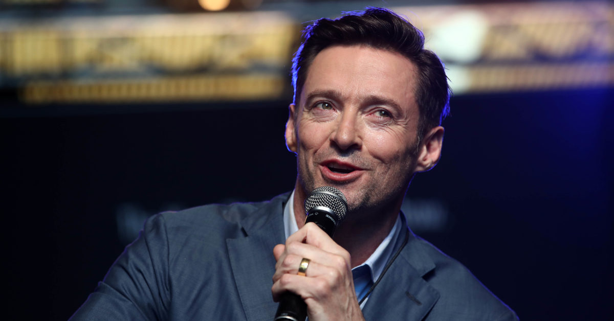 Actor Hugh Jackman says he is happy being a gay icon. (Phil Walter/Getty)