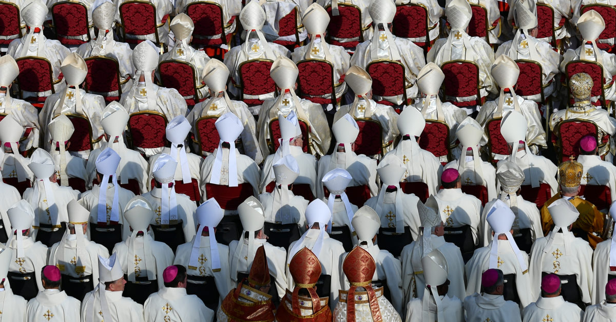 "A new book ""In The Closet of the Vatican"" claims the vast majority of priests are gay. (Vincenzo Pinto/AFP/Getty)"