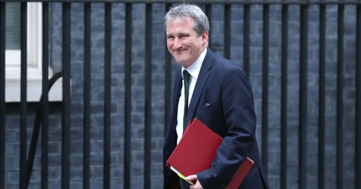 Britain's Education Secretary Damian Hinds (Daniel Leal-Olivas/AFP/Getty)