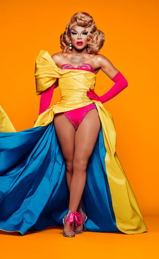A promotional photo of RuPaul's Drag Race season 11 contestant Miss Vanjie