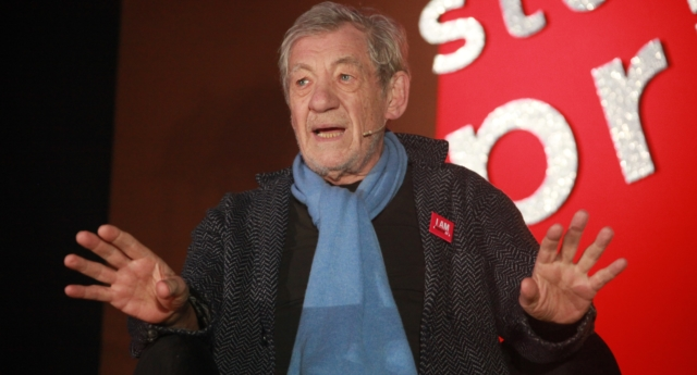 Sir Ian McKellen said the allegations against Kevin Spacey and Bryan Singer were down to them staying in the closet (National Student Pride)