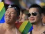 The court's ruling is set make same-sex marriage legal in Taiwan on May 24 (DANIEL SHIH/AFP/Getty)