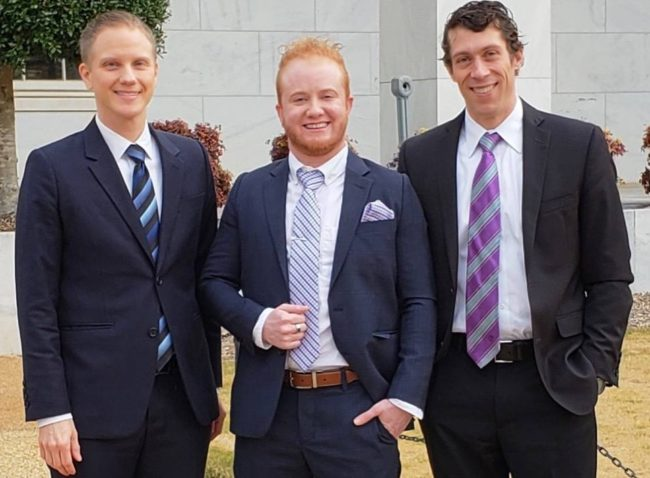 Noah Lewis of Transcend Legal with co-counsel Kevin Barry of Quinnipiac University School of Law Legal Clinic argued in federal court in Athens, GA, on behalf of Skyler Jay in his case against the University System of Georgia for excluding gender dysphoria treatment from healthcare coverage.