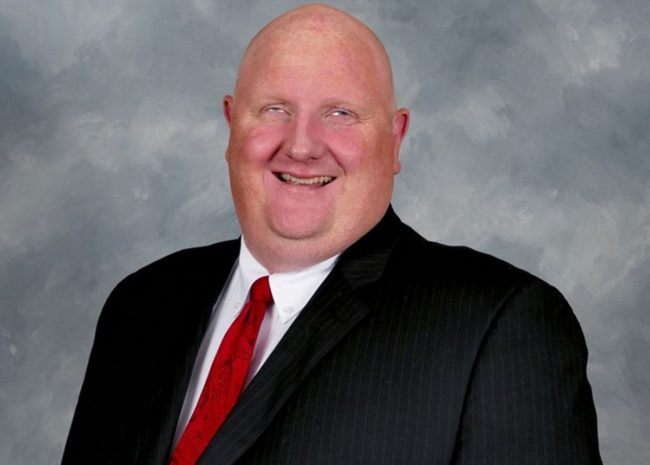 Eric Porterfield, a West Virginia Republican representative under fire for anti-LGBT remarks