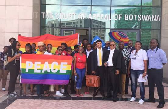 LGBT activists have been campaigning for the decriminalisation of gay sex in Botswana for years.